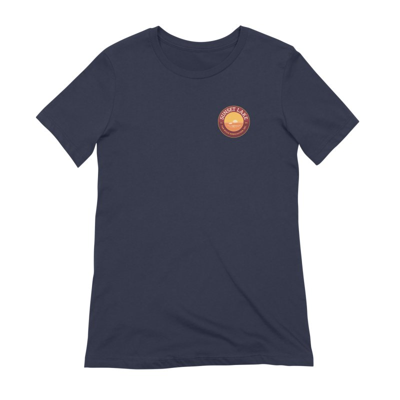 Color logo Women's Extra Soft T-Shirt by Sunset Lake Swag
