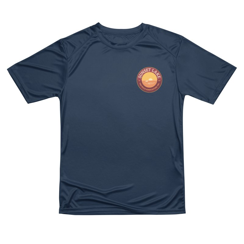 Color logo Women's Performance Unisex T-Shirt by Sunset Lake Swag