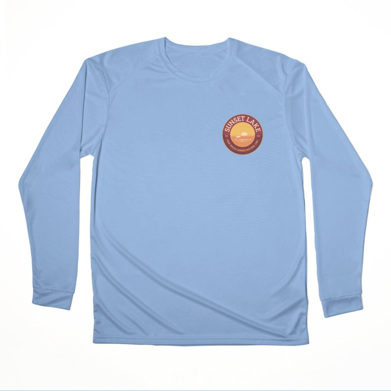 Color logo Men's Performance Longsleeve T-Shirt by Sunset Lake Swag