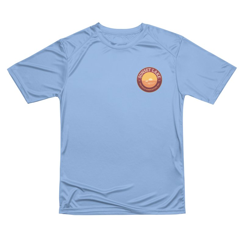 Color logo Men's Performance T-Shirt by Sunset Lake Swag