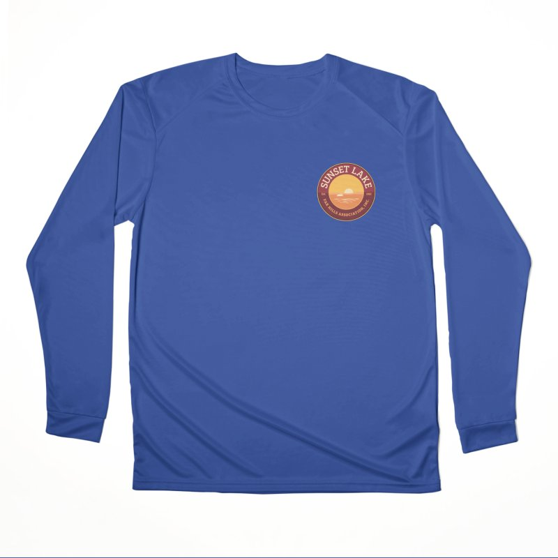 Color logo Women's Performance Unisex Longsleeve T-Shirt by Sunset Lake Swag