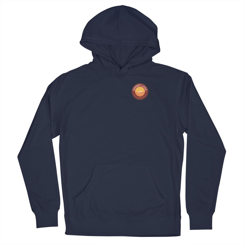 Color logo Men's Pullover Hoody by Sunset Lake Swag