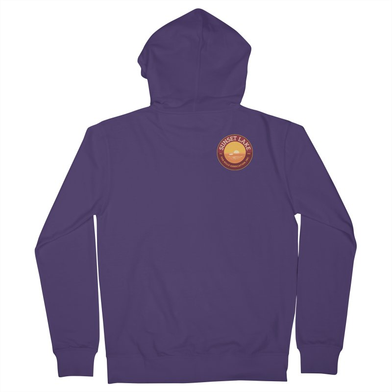 Color logo Women's Zip-Up Hoody by Sunset Lake Swag