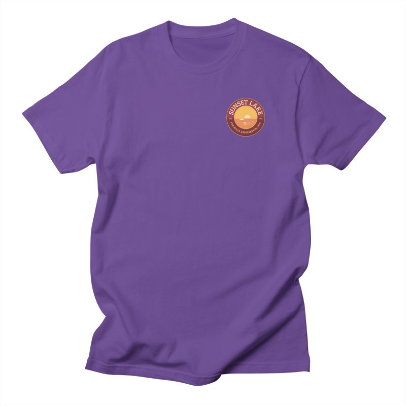 Color logo Men's T-Shirt by Sunset Lake Swag
