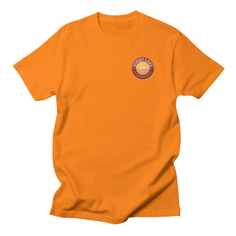 Color logo Men's T-Shirt by Sunset Lake Swag