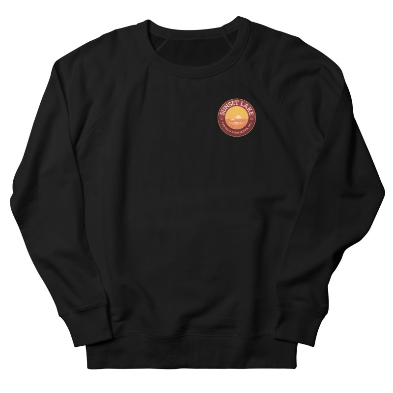 Color logo Men's French Terry Sweatshirt by Sunset Lake Swag