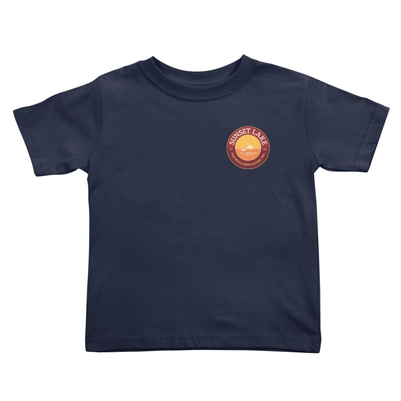 Color logo Kids Toddler T-Shirt by Sunset Lake Swag