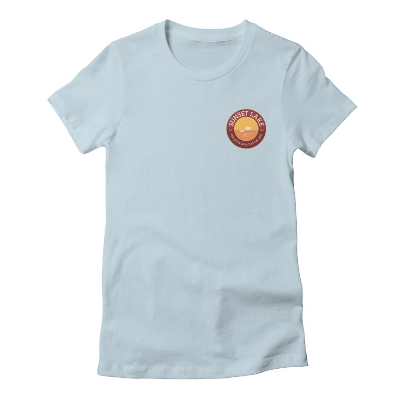 Color logo Women's T-Shirt by Sunset Lake Swag