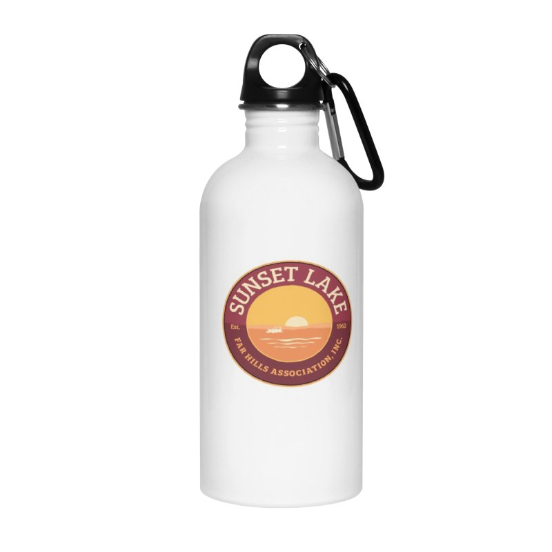 Color logo Accessories Water Bottle by Sunset Lake Swag