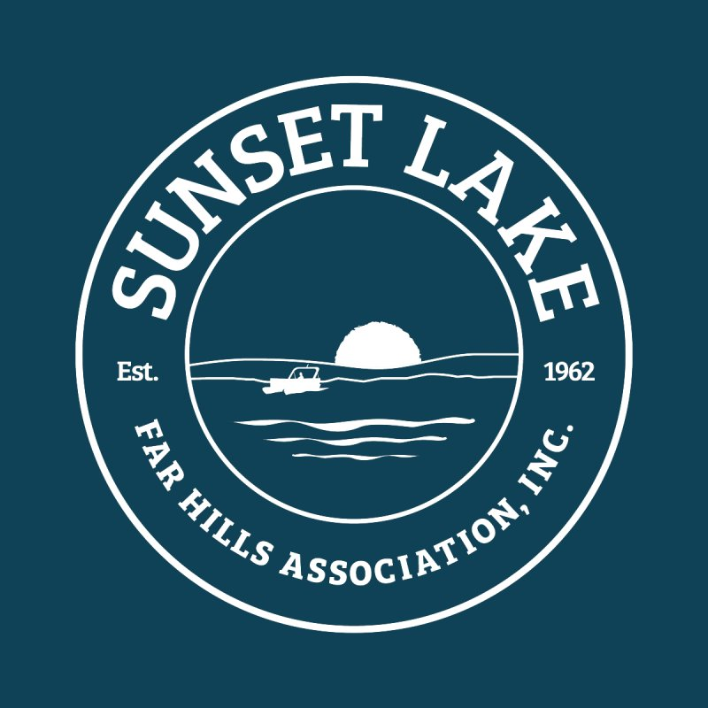 White Logo: BIG Men's Tank by Sunset Lake Swag