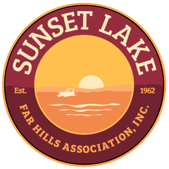 Sunset Lake Swag Logo