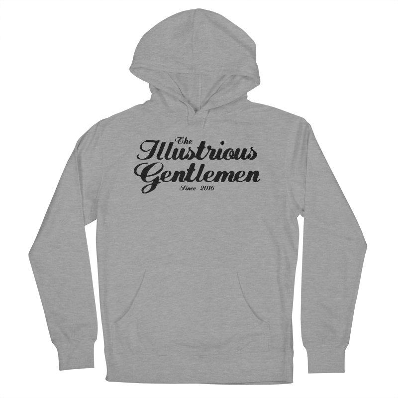 The Illustrious Gentlemen Classic Black Logo Women's Pullover Hoody by Super75studios's Artist Shop