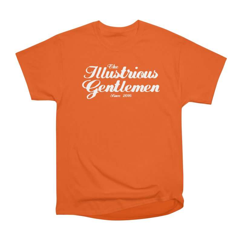 The Illustrious Gentlemen Classic White Logo Women's T-Shirt by Super75studios's Artist Shop