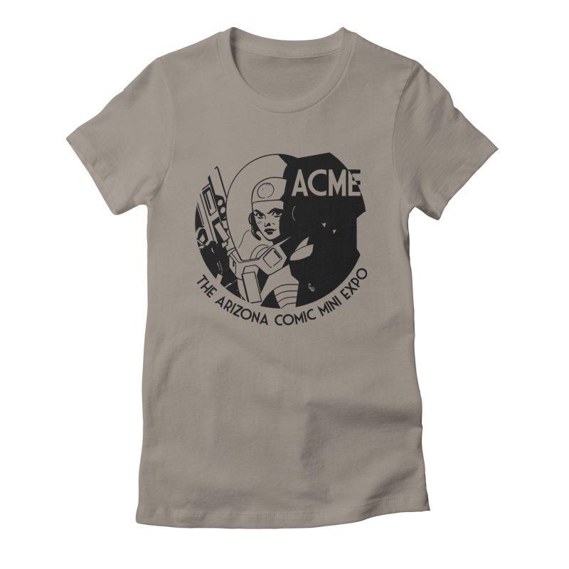 Arizona Comic Mini Expo Women's Fitted T-Shirt by Super75studios's Artist Shop