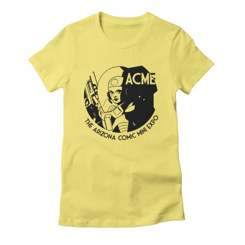 Arizona Comic Mini Expo Women's Fitted T-Shirt by Super75studios's Artist Shop