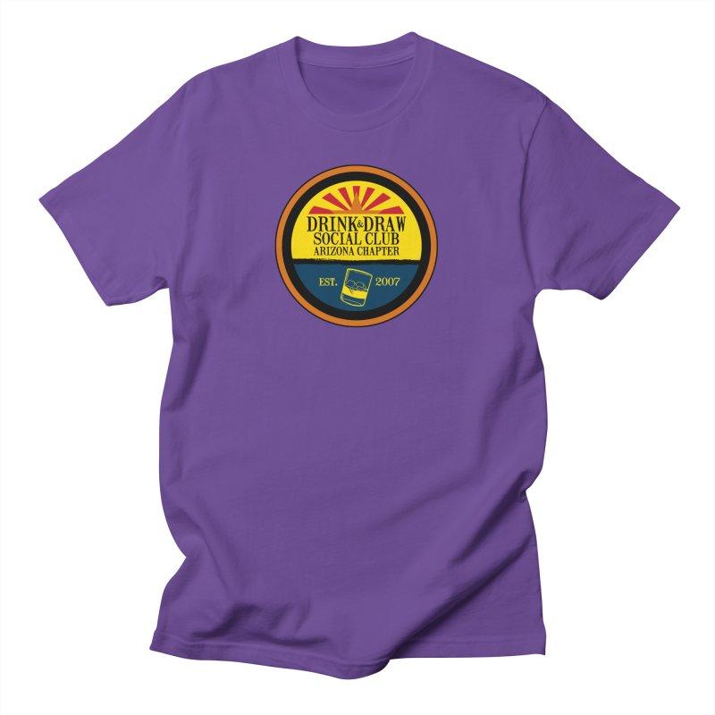 Drink & Draw Social Club, Arizona Chapter Men's T-Shirt by Super75studios's Artist Shop