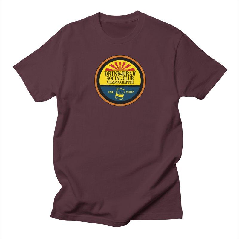 Drink & Draw Social Club, Arizona Chapter Men's Regular T-Shirt by Super75studios's Artist Shop