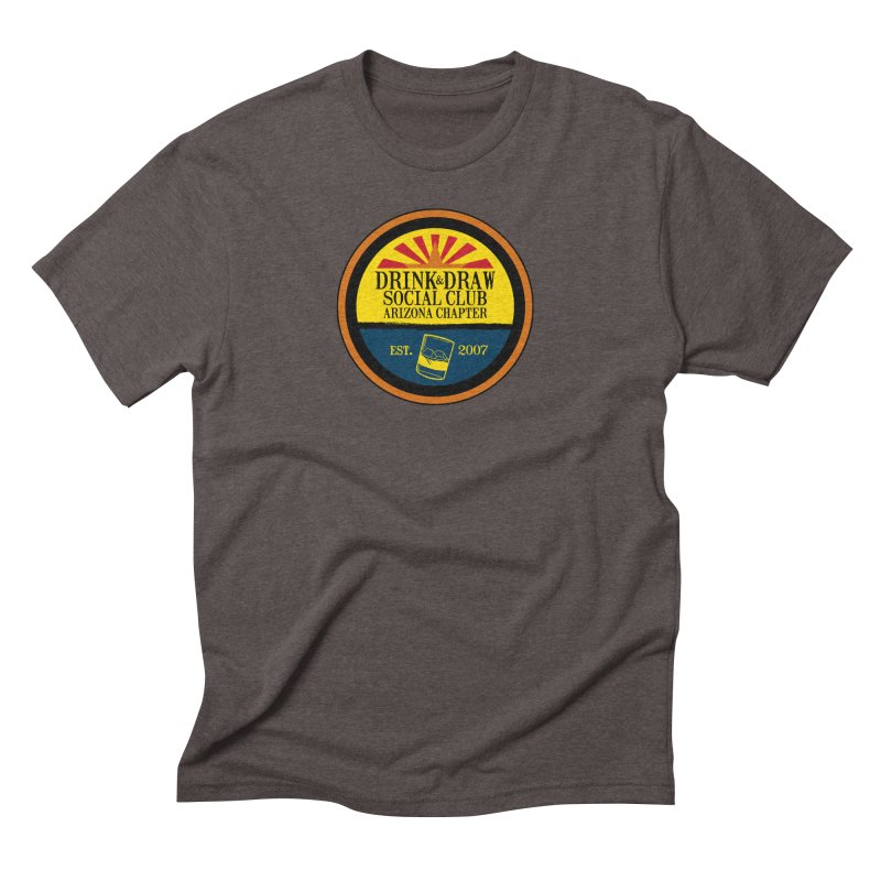 Drink & Draw Social Club, Arizona Chapter Men's Triblend T-Shirt by Super75studios's Artist Shop