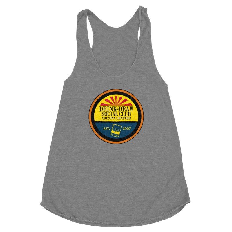 Drink & Draw Social Club, Arizona Chapter Women's Tank by Super75studios's Artist Shop