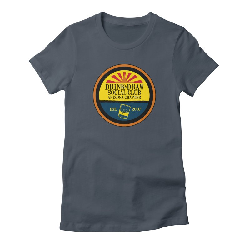 Drink & Draw Social Club, Arizona Chapter Women's T-Shirt by Super75studios's Artist Shop