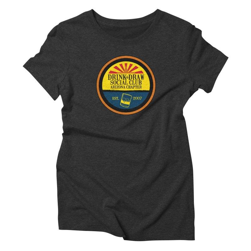 Drink & Draw Social Club, Arizona Chapter Women's Triblend T-Shirt by Super75studios's Artist Shop