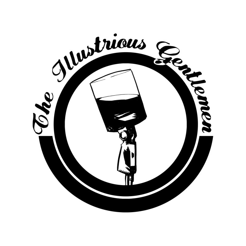 The Illustrious Gentlemen WhiskeyMic Black Logo by Super75studios's Artist Shop