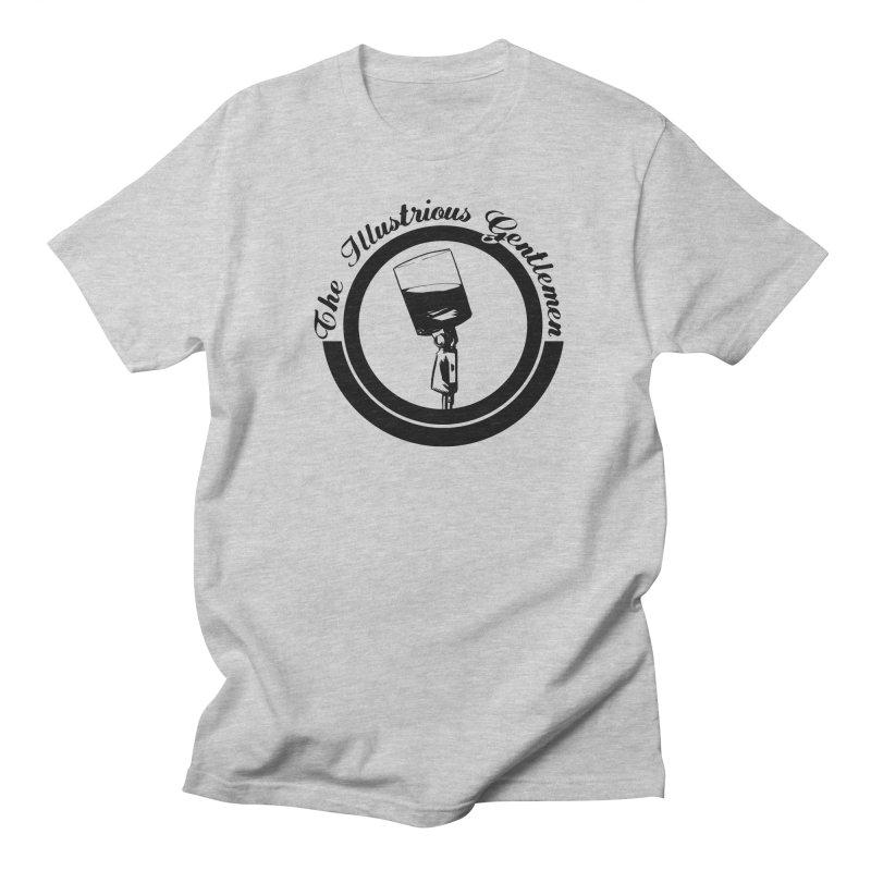 The Illustrious Gentlemen WhiskeyMic Black Logo Men's Regular T-Shirt by Super75studios's Artist Shop