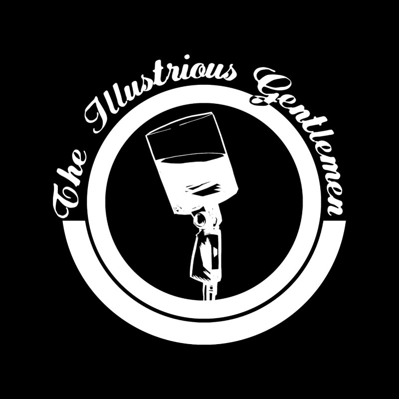 The Illustrious Gentlemen WhiskeyMic White Logo by Super75studios's Artist Shop
