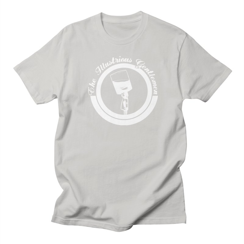 The Illustrious Gentlemen WhiskeyMic White Logo Men's Regular T-Shirt by Super75studios's Artist Shop