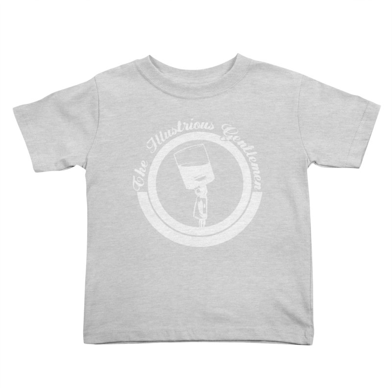 The Illustrious Gentlemen WhiskeyMic White Logo Kids Toddler T-Shirt by Super75studios's Artist Shop