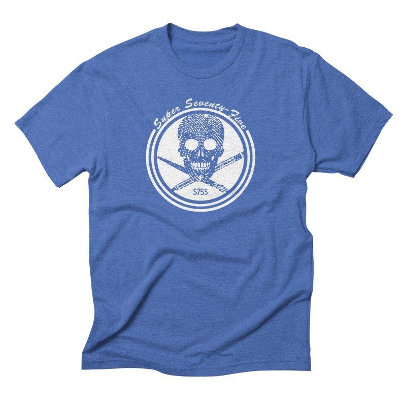 Super 75 Skull & Drawing Tools Men's T-Shirt by Super75studios's Artist Shop