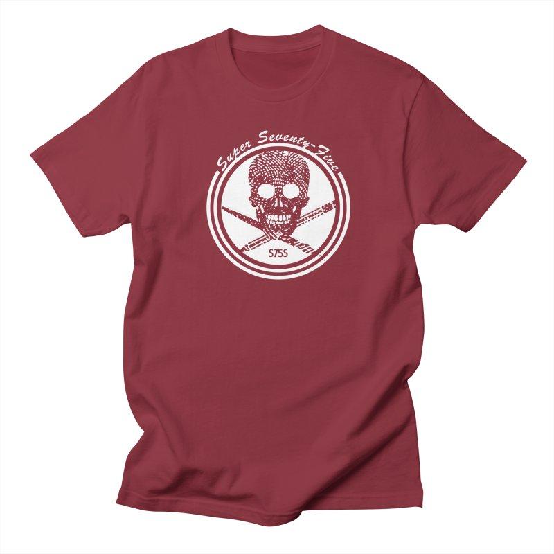 Super 75 Skull & Drawing Tools Men's Regular T-Shirt by Super75studios's Artist Shop