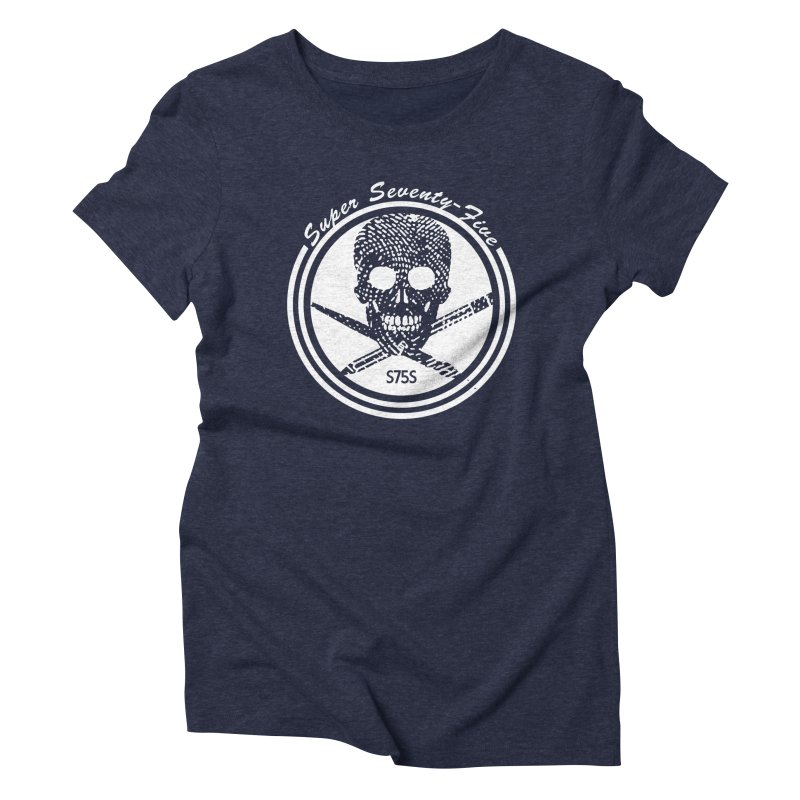 Super 75 Skull & Drawing Tools Women's T-Shirt by Super75studios's Artist Shop