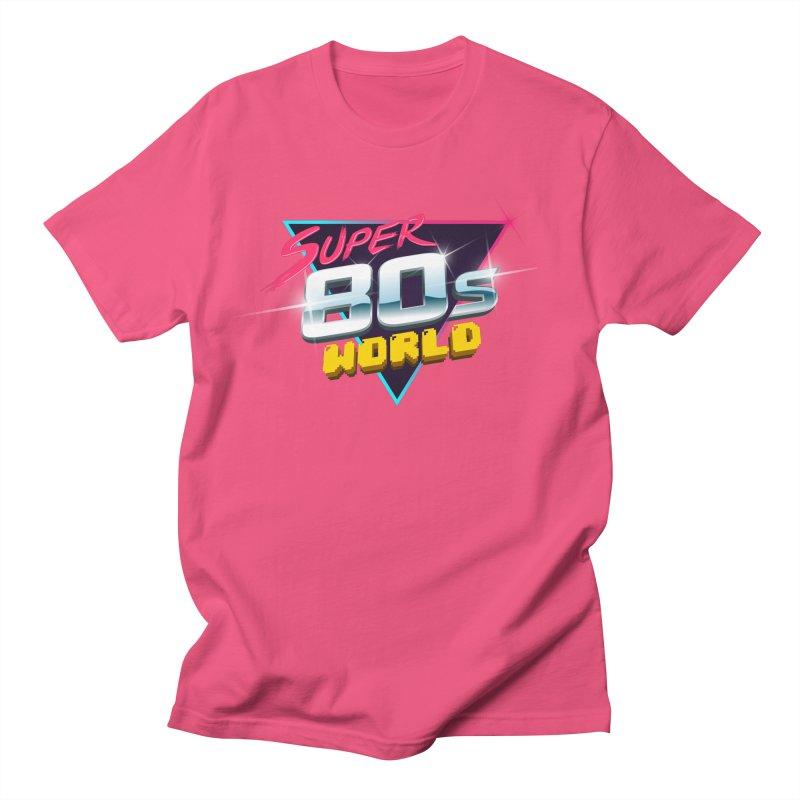 Super 80s World Men's T-Shirt by Super80sWorld's Artist Shop