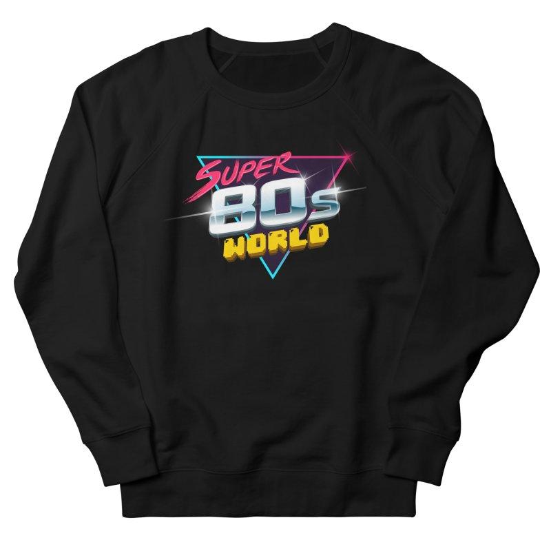 Super 80s World Men's French Terry Sweatshirt by Super80sWorld's Artist Shop