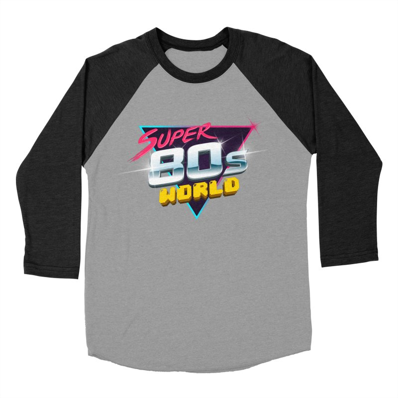 Super 80s World Men's Baseball Triblend T-Shirt by Super80sWorld's Artist Shop