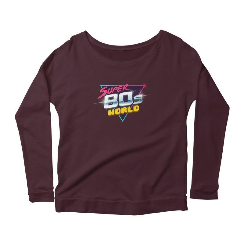 Super 80s World Women's Longsleeve T-Shirt by Super80sWorld's Artist Shop
