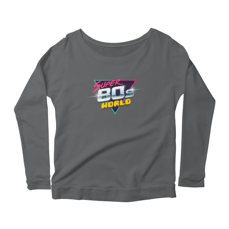 Super 80s World Women's Scoop Neck Longsleeve T-Shirt by Super80sWorld's Artist Shop