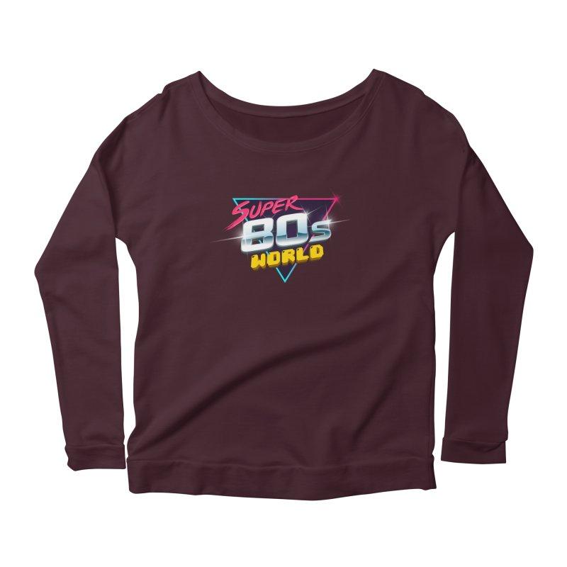 Super 80s World Women's Scoop Neck Longsleeve T-Shirt by Super80sWorld's Artist Shop