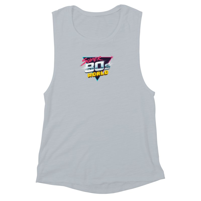Super 80s World Women's Muscle Tank by Super80sWorld's Artist Shop