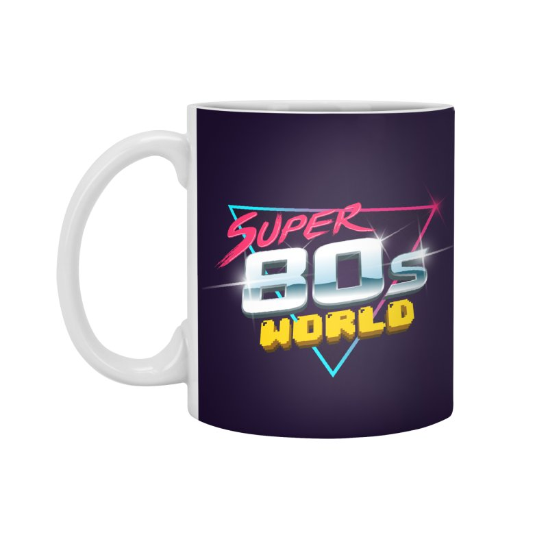 Super 80s World Accessories Standard Mug by Super80sWorld's Artist Shop