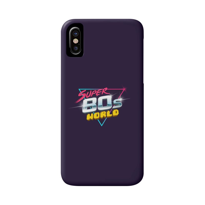 Super 80s World Accessories Phone Case by Super80sWorld's Artist Shop