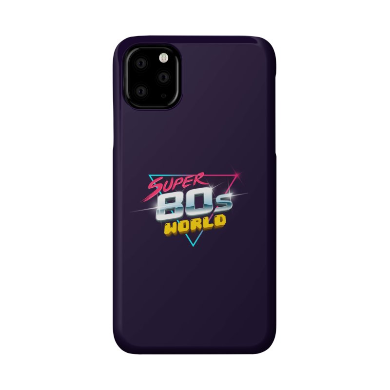 Super 80s World Accessories Phone Case by Super80sWorld's Artist Shop