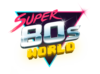 Super80sWorld's Artist Shop Logo