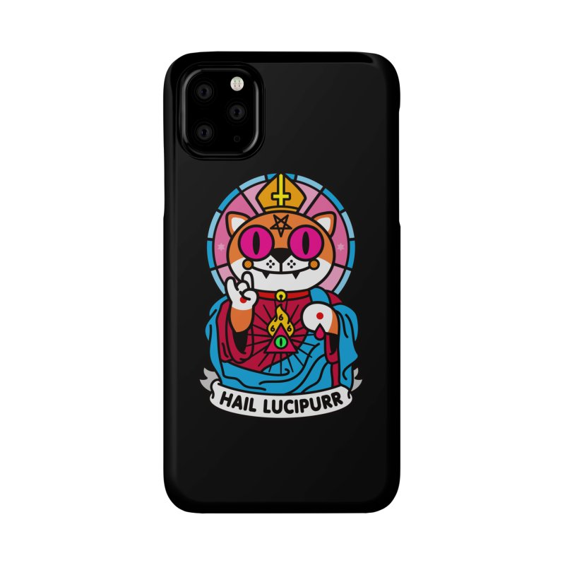 Hail Lucipurr Accessories Phone Case by StudioDelme