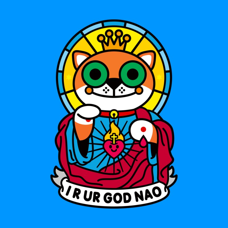 Jeezus Cat None  by SuperHappyMagic