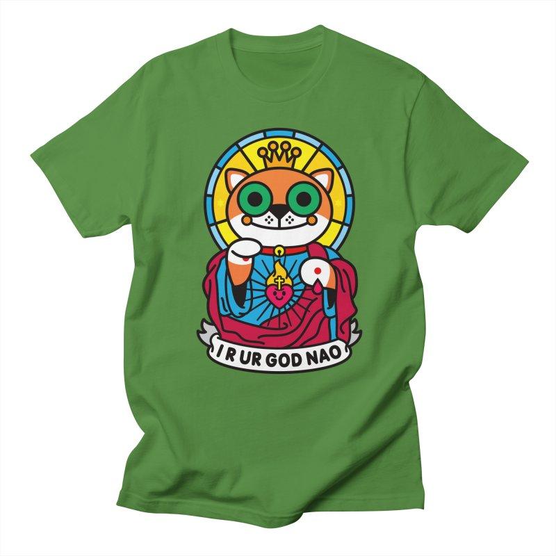 Jeezus Cat Men's Regular T-Shirt by StudioDelme