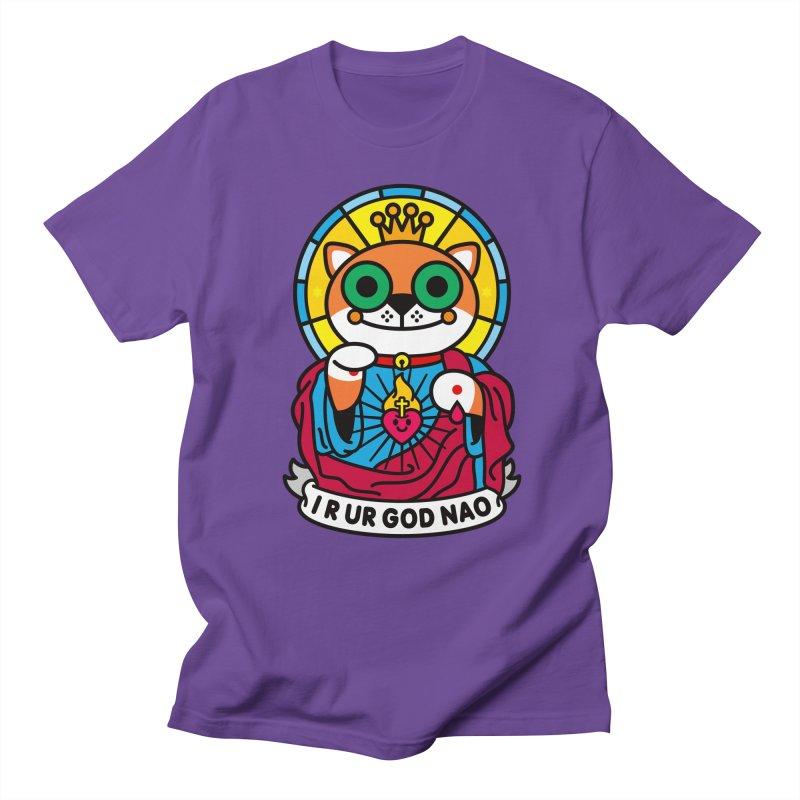 Jeezus Cat Women's Unisex T-Shirt by SuperHappyMagic