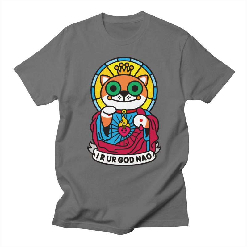 Jeezus Cat Men's T-Shirt by StudioDelme