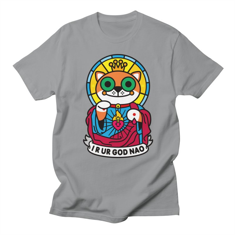 Jeezus Cat Women's Regular Unisex T-Shirt by SuperHappyMagic
